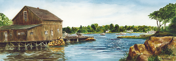 cohasset harbor by Paul Gardner